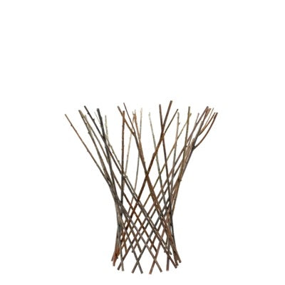 Flared Twig Garden Trellis, Set of 4