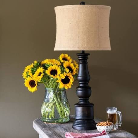 Cornelia Coal Pillar Lamp