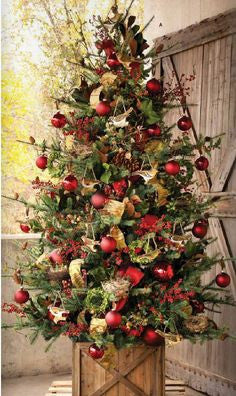 Plantation Box Tin Lined Christmas Holiday Tree Skirt Planter by Park Hill Collection Colonial House of Flowers Atlanta Plants Vases Containers Florist Weddings Events Georgia Southern South