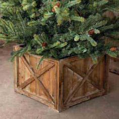 Plantation Box Tin Lined Tree Planter