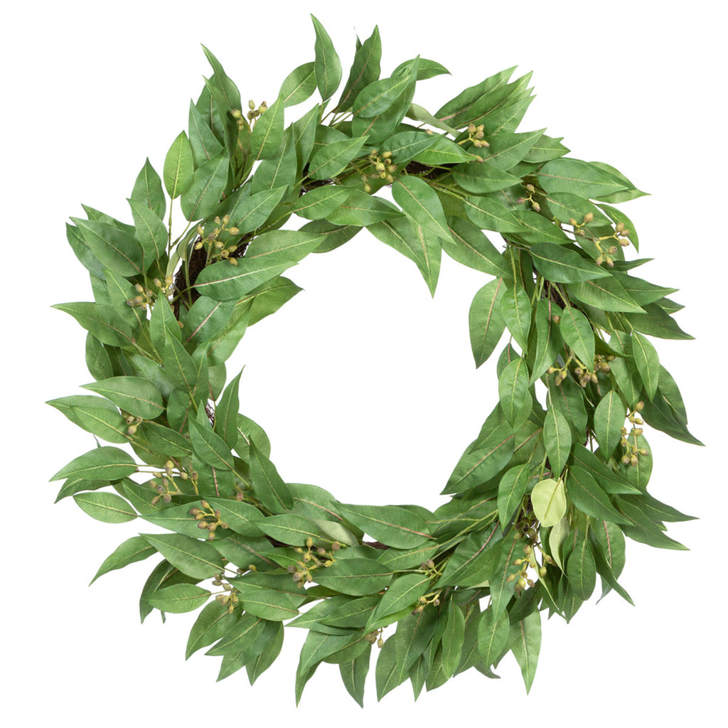 Satilla Seeded Eucaplyptus Wreath