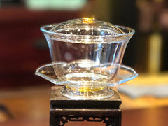Hand-Blown Glass Gaiwan AWG5050