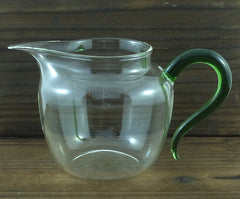 AXG5053 Green Hand-Blown Glass Faircup