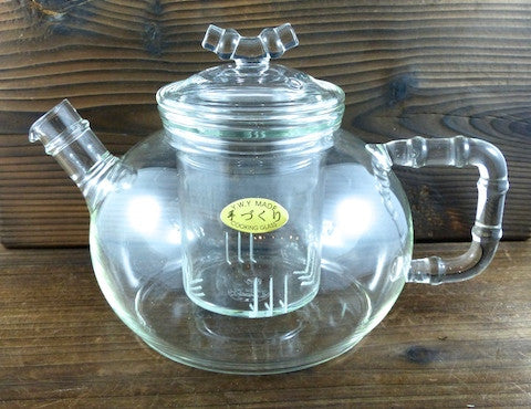 Borocilicate Glass teapot with infuser