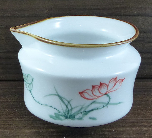 Red Lotus Glazed Faircup