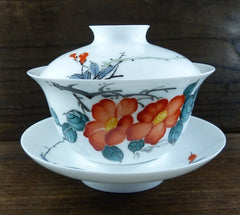 Jingdezhen Eggshell Collection Color Porcelain Gaiwan