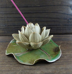 Handmade Lotus Incense Holder