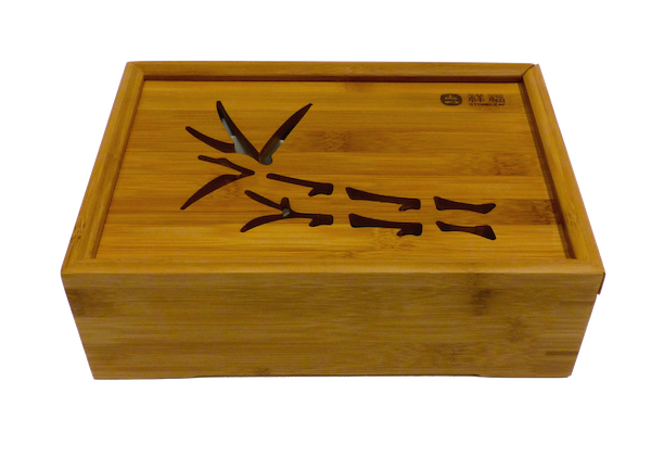 Bamboo Garden Travel Tea Tray with Teaset