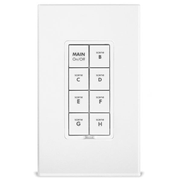 Keypad Dimmer Insteon Dual Band 8 Button 2334 222