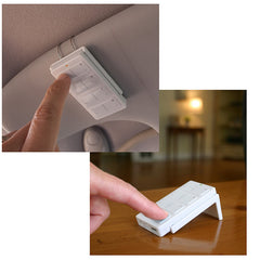 Shop for Mini Remote - Visor Clip and Tabletop Stand at innovativehomesys.com.