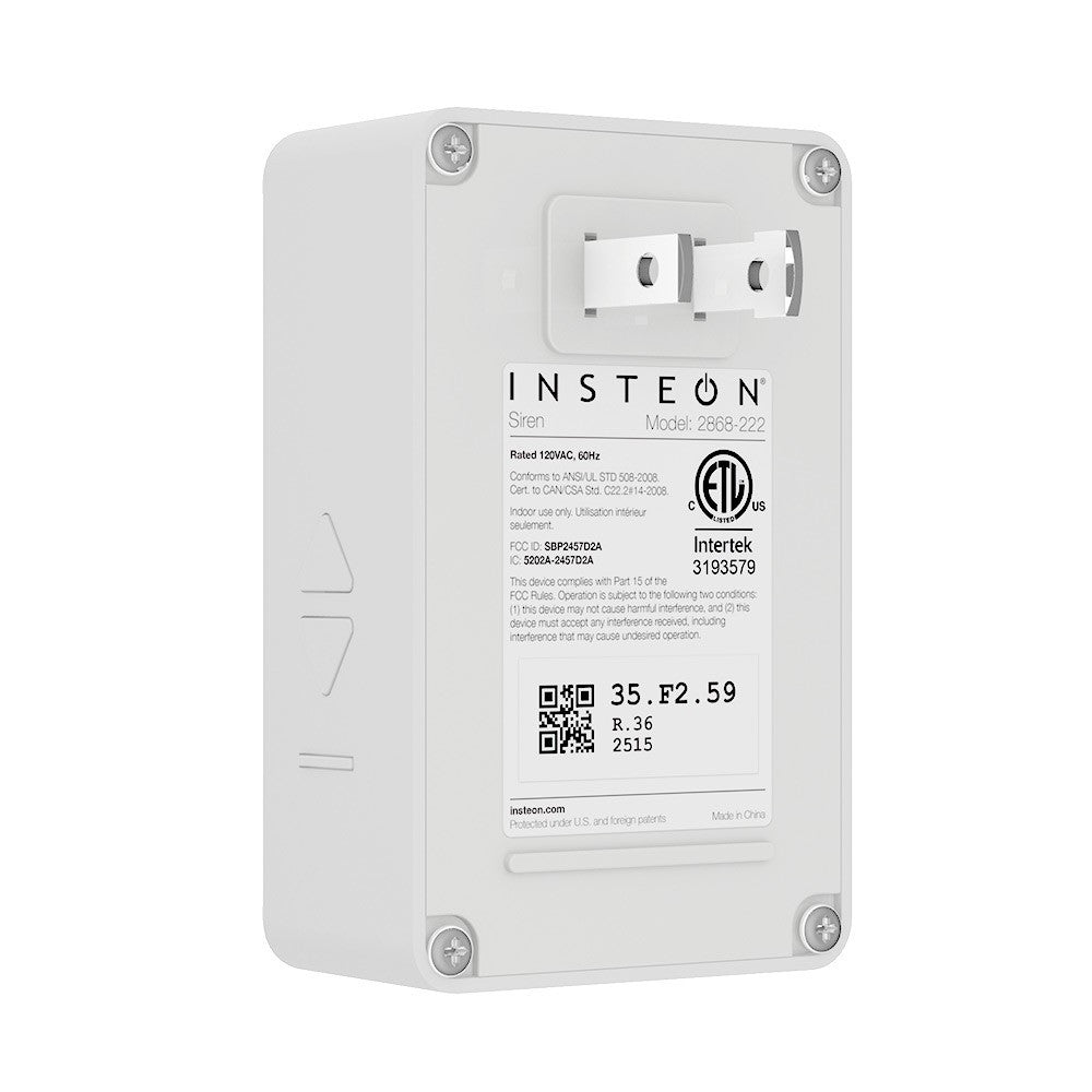 Insteon siren module 2868 222 innovative home systems insteon siren module 2868 222 rubansaba