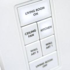 Insteon Custom-Etched Button Change Kit for Insteon Keypads 2401C6