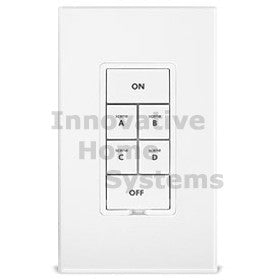 KeypadLinc - INSTEON 6-Button Scene Control Keypad with On/Off Switch  (Dual-Band) 2487S