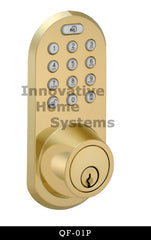 Shop for Morning Remote Controlled Door Lock QF-01P at innovativehomesys.com.