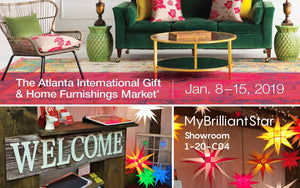 VISIT MYBRILLIANTSTAR AT THE AMERICASMART ATLANTA 2019