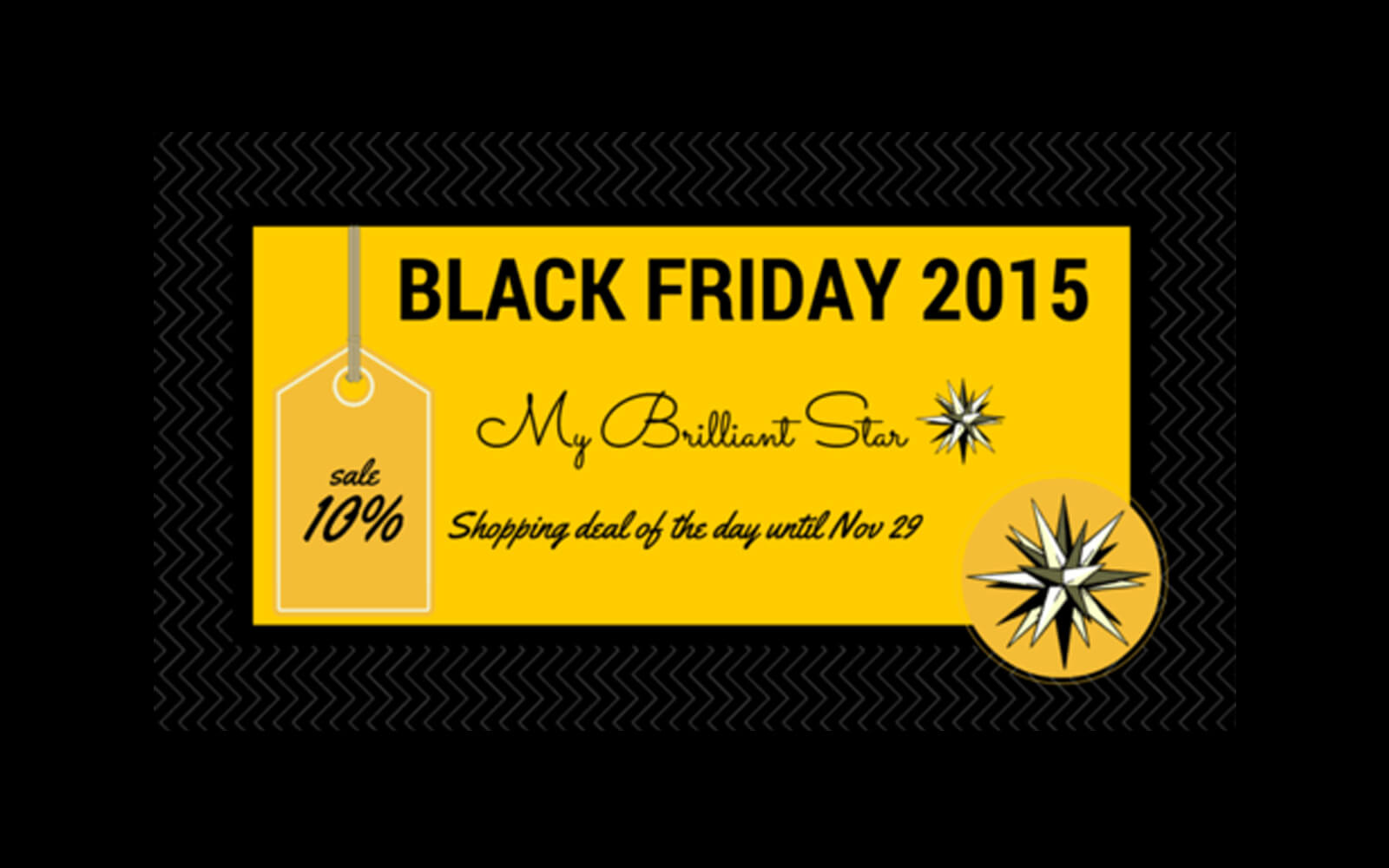 Black Friday offer MyBrilliantStar