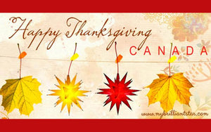 Happy Thanksgiving Canada 2017