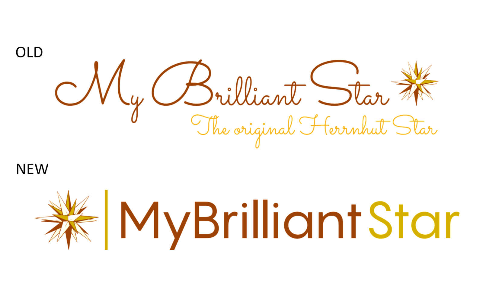MyBrilliantStar - new logo