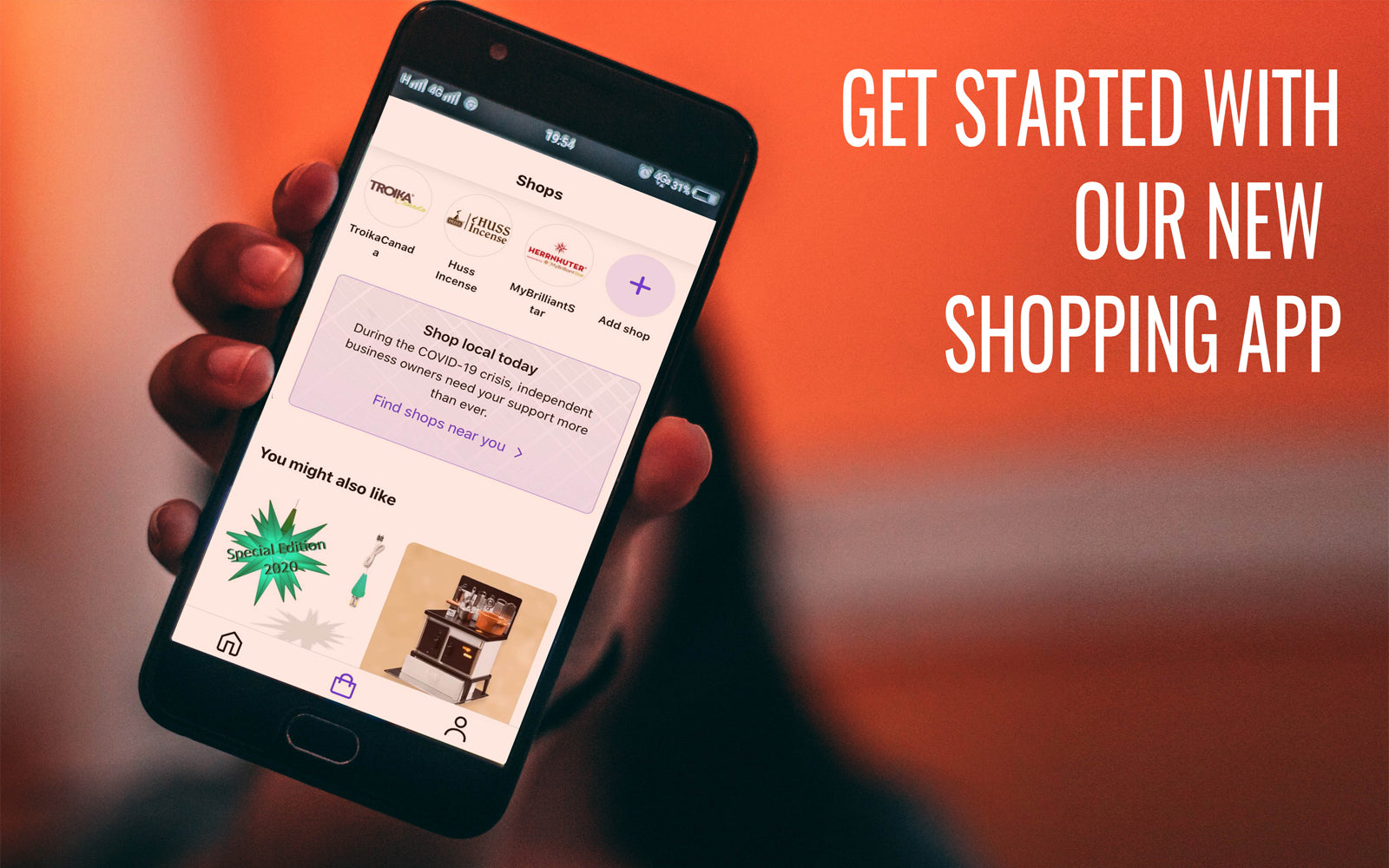 SHOP - THE NEW SHOPPING APP