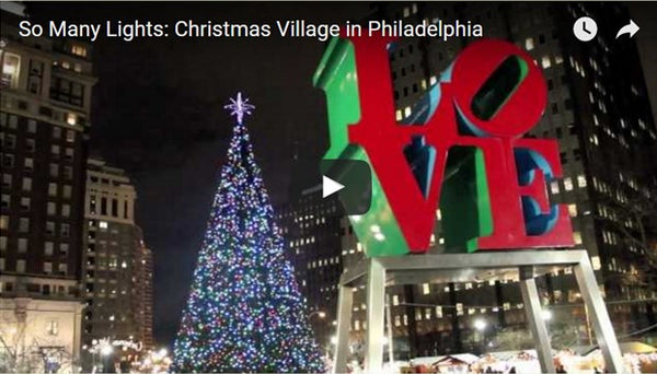 So Many Lights: Christmas Village in Philadelphia