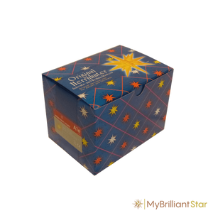 Box for Original Herrnhut plastic star, ORANGE (Special Edition 2016), ~ 13 cm / 5 inch ø