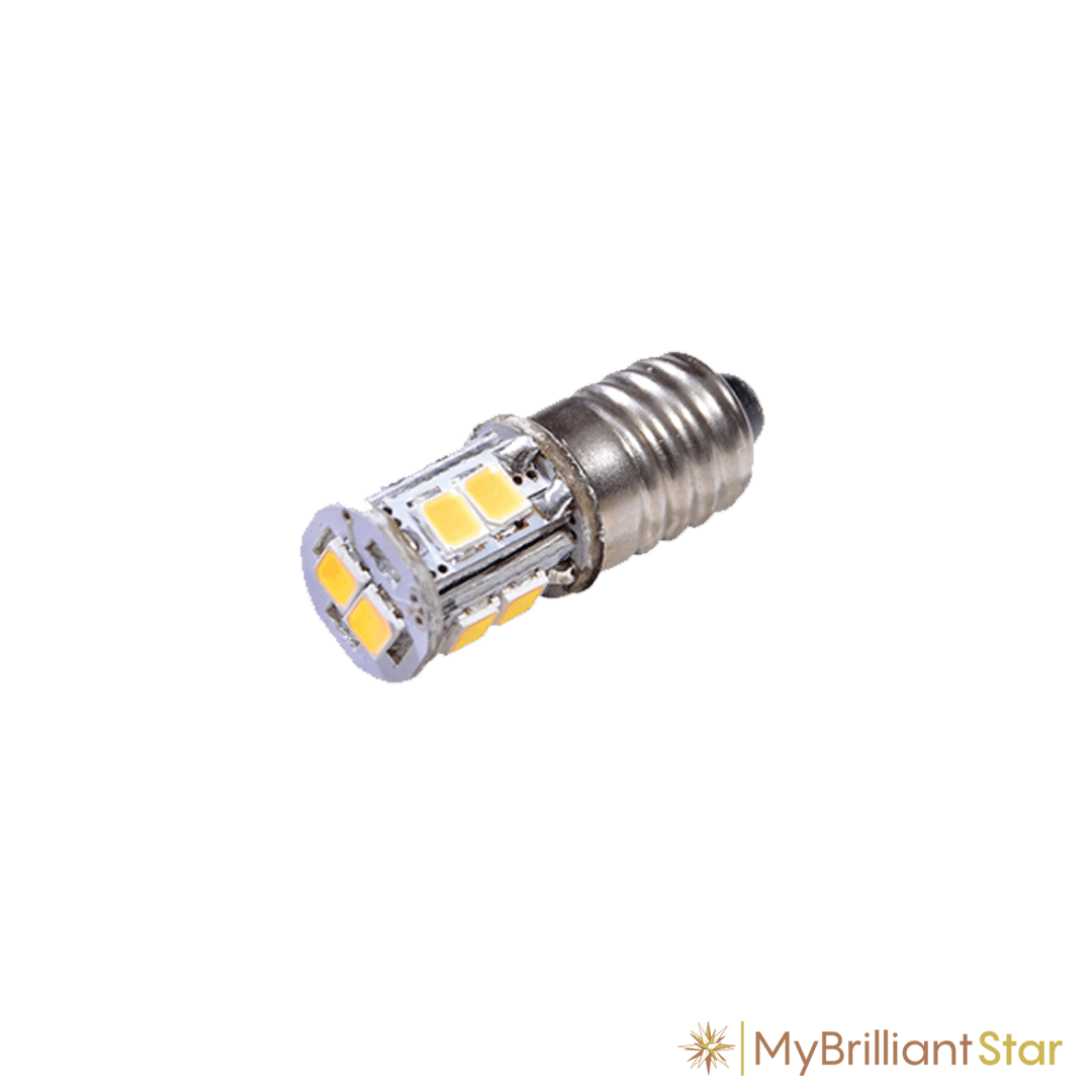 LED, E10/6.5V/0.5W spare bulb for Plastic Star ~ 13 cm / 5 inch ø