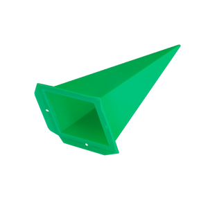 Spare points for plastic star ~ 70 cm / 28 inch ø, green