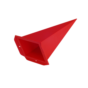 Spare points for plastic star ~ 70 cm / 28 inch ø, red