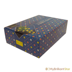 Box for Original Herrnhut plastic star chain, yellow, ~ 12 m / 470 inch length