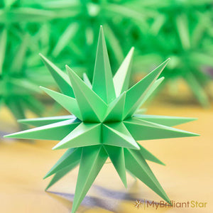 Original Herrnhut plastic star, MINT (Special Edition 2020), ~ 13 cm / 5 inch ø -LED