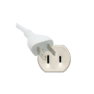 Plug of E12 indoor cable with plug in, 4m (157 inch)