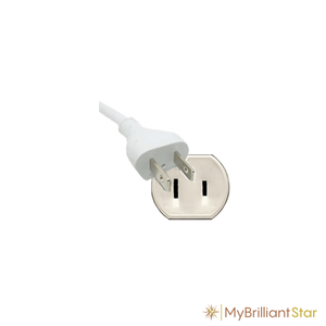 Plug of Original Herrnhut paper star, white, ~ 40 cm / 16 inch ø