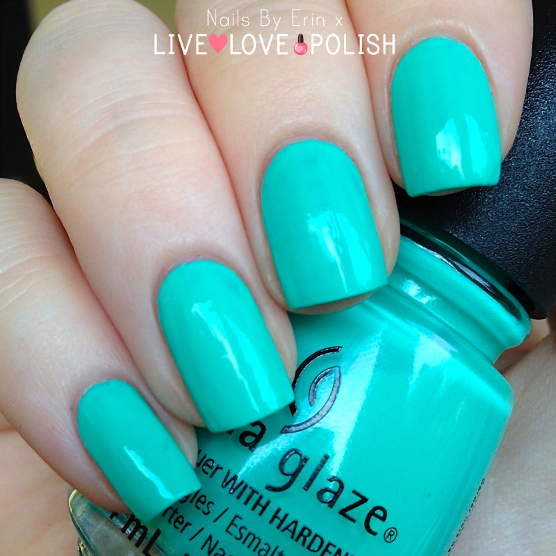 China Glaze Too Yatch to Handle Swatch