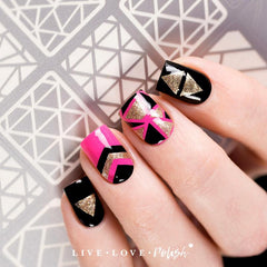 Live Love Polish Art Deco Nail Vinyls