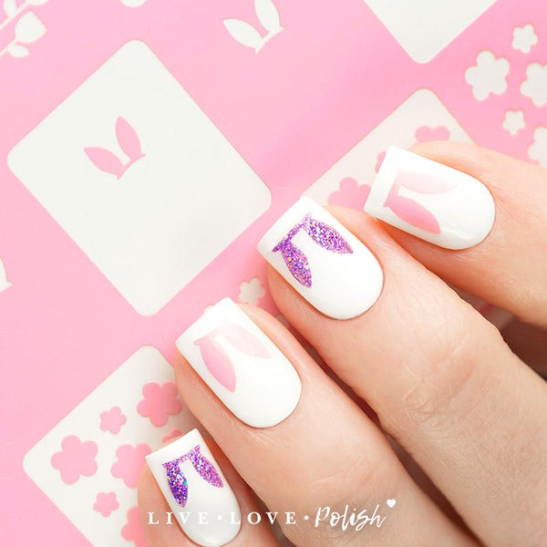 Live Love Polish Hop Into Spring Nail Vinyls