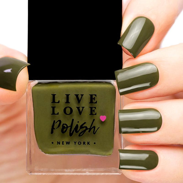 Live Love Polish Moss Nail Polish  (Fall 2018 Classics Collection)