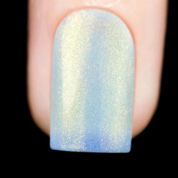baby blue color changing thermal nail polish