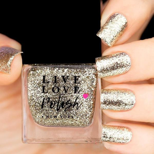 Live Love Polish Sun Glitter Nail Polish (Maritime Myths Collection)
