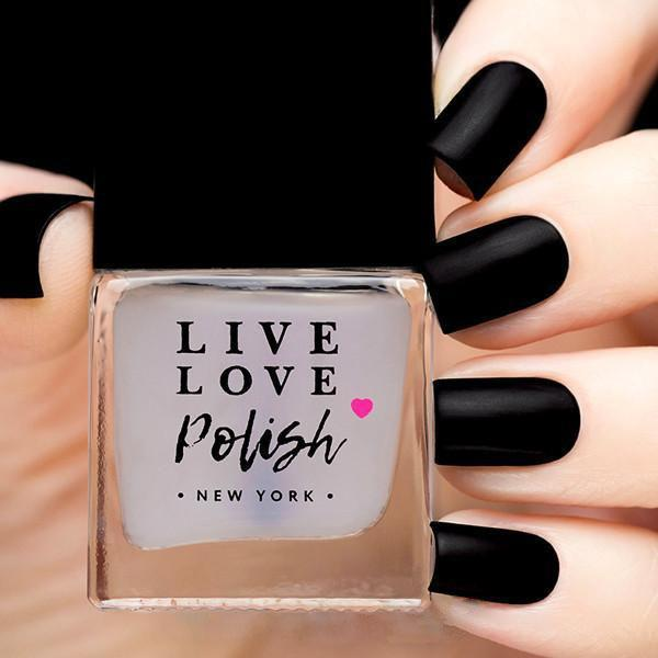 Live Love Polish Velvet Matte Top Coat