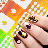 Live Love Polish Fall-ing Leaves Nail Vinyls