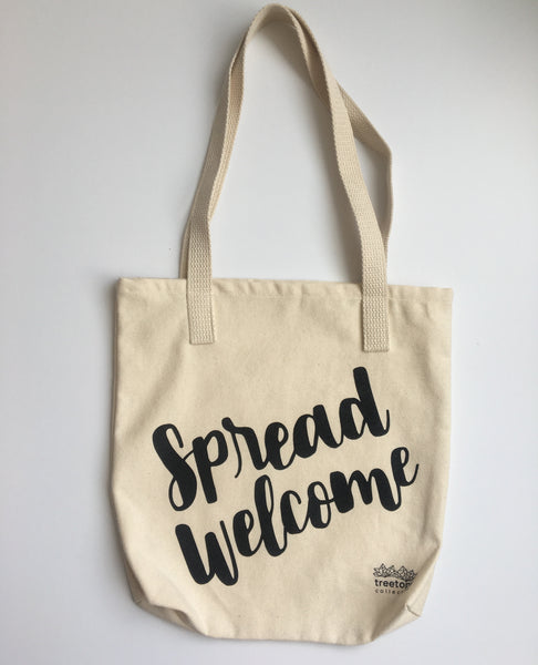 """Spread Welcome"" Tote"