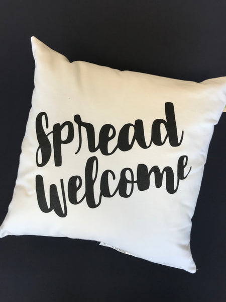 Spread Welcome Pillow