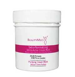 BeautyMed Sebo-Normalizing Dermo Active Cream Mask 100ml/3.38oz  Paraben Free — Colouring Agent Free