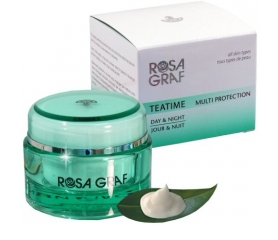 Rosa Graf Green Tea - Teatime - 24h Cream - All Skin Types