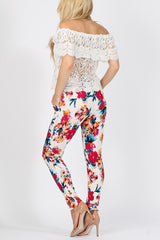 Floral Pocket Trousers