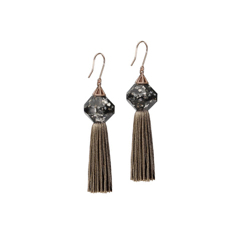Luxe Mythical Tassel Earrings