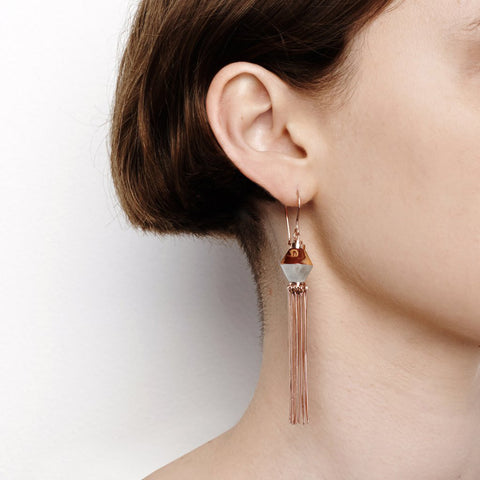 Disorientation Earrings - Crayfish