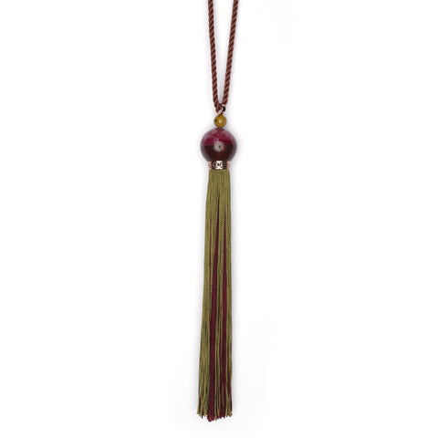 Double Ceremonial Tassel Pendant