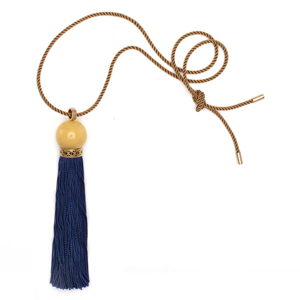 Single Ceremonial Tassel Pendant