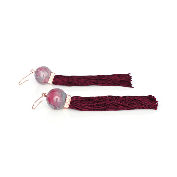 Tremble Tassel Earring - Amrita